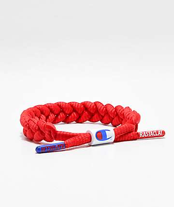 Rastaclat x Champion Red Bracelet
