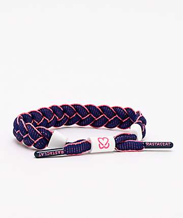 Rastaclat x Keep A Breast Empower Navy & Pink Bracelet