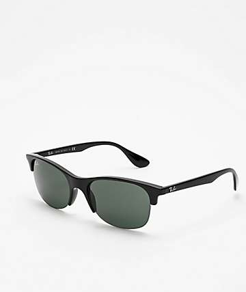 8c146028d Ray-Ban Clubmaster Junior Black & Green Sunglasses