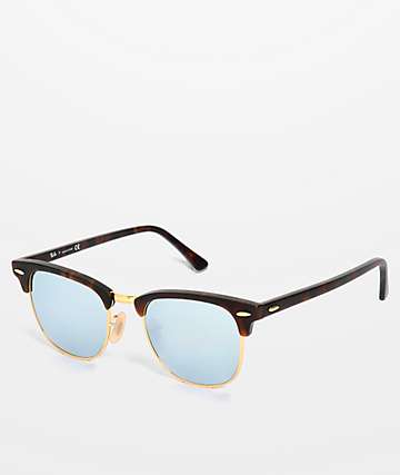 Ray-Ban Clubmaster Sand Havana Sunglasses