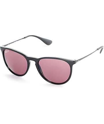 Ray-Ban Erika gafas de sol espejos en morado