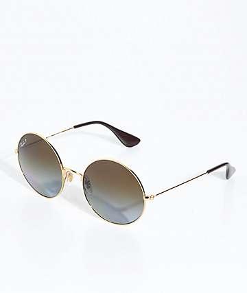 Ray-Ban Jajo gafas de sol de oro