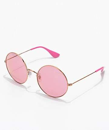 Ray-Ban Jajo gafas de sol rosas