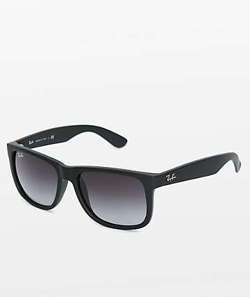b1ce386b518 Ray-Ban Justin Grey Gradient Sunglasses