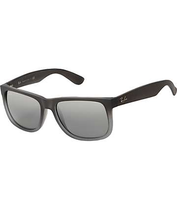 Ray-Ban Justin Matte Grey Sunglasses