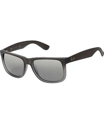 Ray-Ban Justin gafas de sol en gris mate