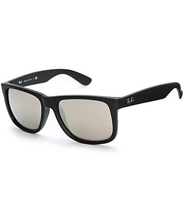 Ray-Ban Justin gafas de sol en negro y oro