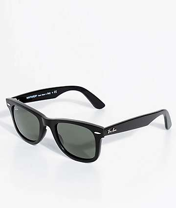 Ray-Ban No Tilt Wayfarer Black Sunglasses