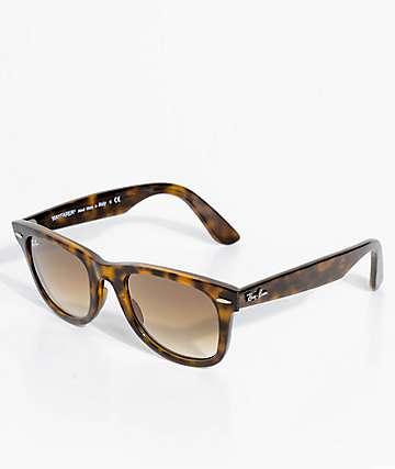 Ray-Ban No Tilt Wayfarer Tortoise Sunglasses