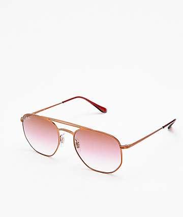 Ray-Ban RB3609 Demi Gloss Brown & Pink Sunglasses