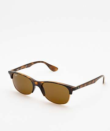 Ray-Ban RB4319 Havana Dark Brown Sunglasses