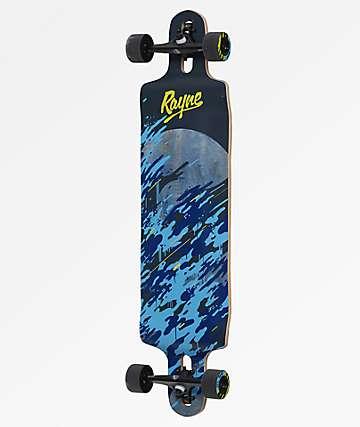 "Rayne Demonseed 39"" Double-Drop Longboard Complete"