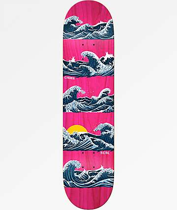 "Real Chima Odyssey 8.02"" Skateboard Deck"