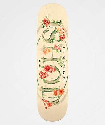"Real Ishod Blossom Oval Full 8.25"" Skateboard Deck"