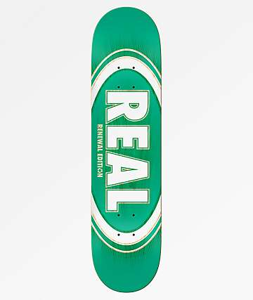 "Real Oval Burst Fade 7.75"" Skateboard Deck"