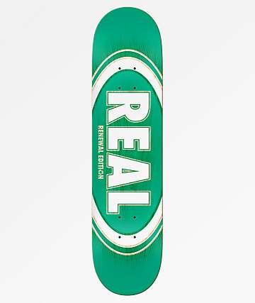 "Real Oval Burst Fade 7.75"" Skateboard Deck"