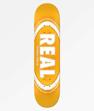 "Real Oval Fade Burst 8.06"" Skateboard Deck"