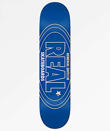 "Real Oval Renewal 7.75"" Skateboard Deck"