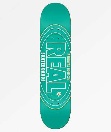 "Real Oval Renewal 8.25"" Skateboard Deck"