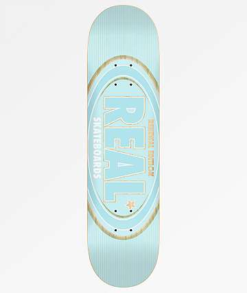 "Real Oval Renewal Remix 8.06"" Skateboard Deck"