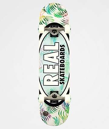 "Real Oval Tropics 7.75"" Skateboard Complete"