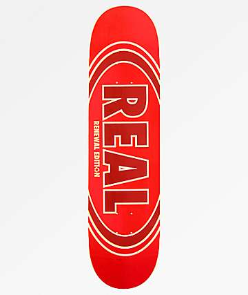"Real Ovalduo Fade Renewal 8.06"" Skateboard Deck"