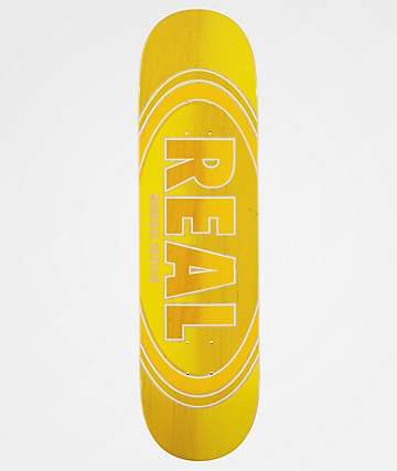 "Real Ovalduo Fade Renewal 8.25"" Skateboard Deck"