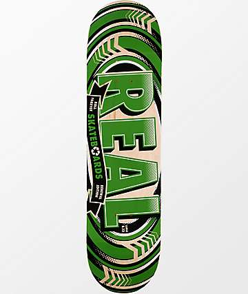 "Real Renewal 8.12""  Skateboard Deck"