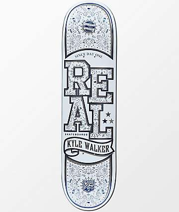 "Real Walker Poppin Off Low Pro II 8.12"" Skateboard Deck"