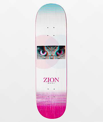 "Real Zion Spirit Eyes 8.38"" Skateboard Deck"