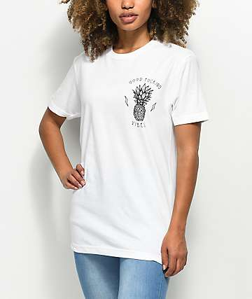 Rebel Soul Fucking Vibes White T-Shirt