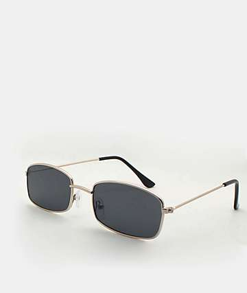 Rectangle Black Sunglasses