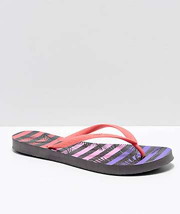 Reef Escape Night Palm Sandals