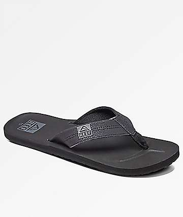 Reef HT Black Sandals