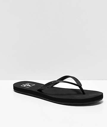 Reef Stargazer Black Sandals
