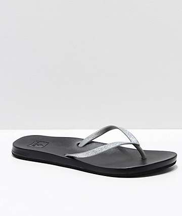 Reef Stargazer Cushion Bounce Silver Sandals