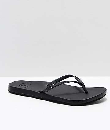 Reef Stargazer Cushion Bounce sandalias negras