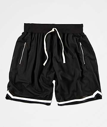 Renegade Black Basketball Shorts