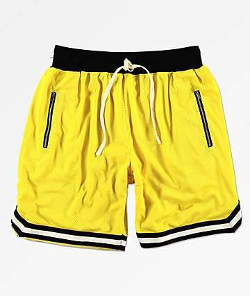 Renegade Gold Basketball Shorts