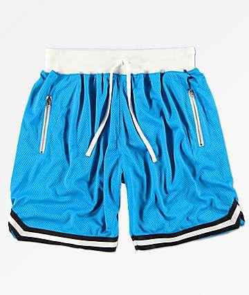 Renegade shorts deportivos azules