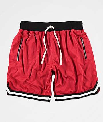 Renegade shorts deportivos rojos