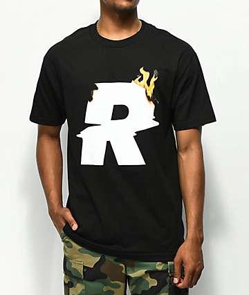 Renowned El Fuego camiseta negra