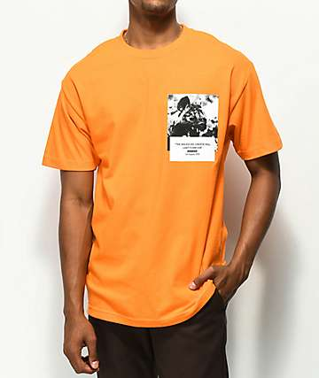 Renowned Hyena Dreams camiseta naranja