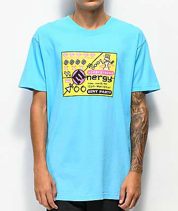 Rent Party Energy Blue T-Shirt