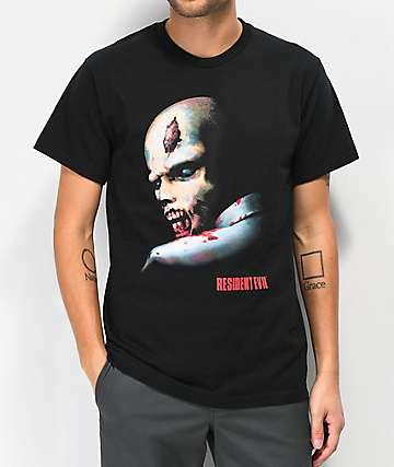 Resident Evil Stare Black T-Shirt