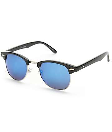 Retro Kruz Black Sunglasses