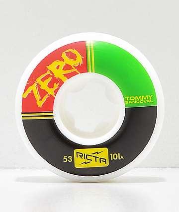 Ricta x Zero Naturals Sandoval Pro 53mm 101a Skateboard Wheels