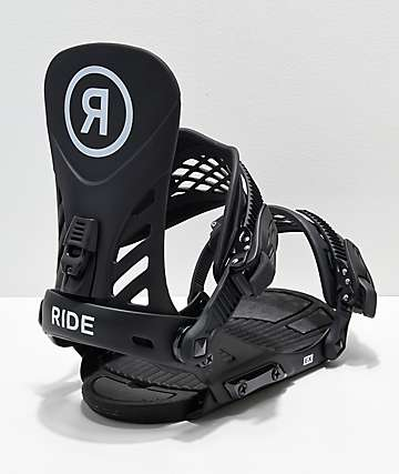 Ride EX Black Snowboard Bindings 2019