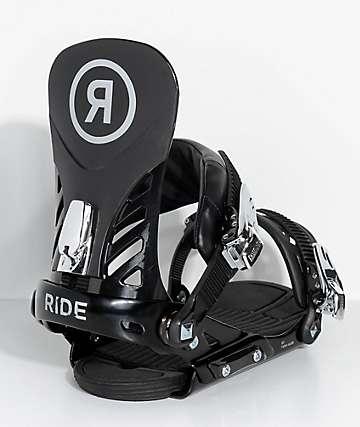 Ride EX fijaciones de snowboard en negro