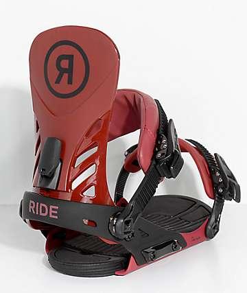 Ride EX fijaciones de snowboard en rojo